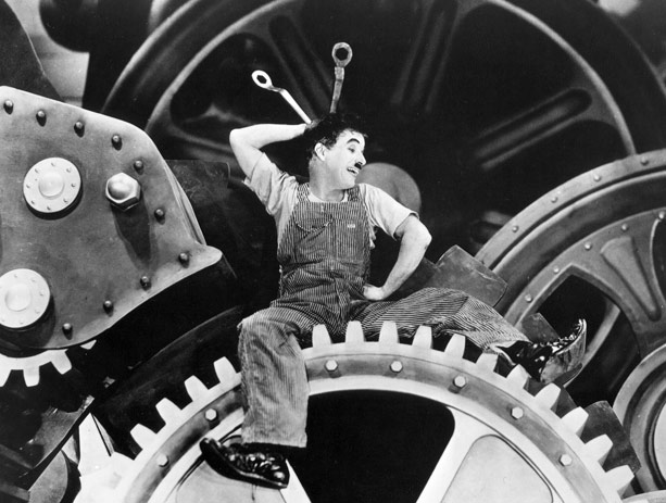 modern times film critique Families will cherish chaplin's silent slapstick read common sense media's modern times review, age rating, and parents guide.